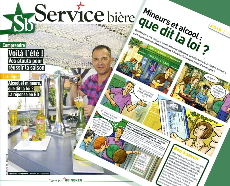 Jean-Paul Aussel - illustration corporate, bande dessinée corporate, bande dessinée entreprise